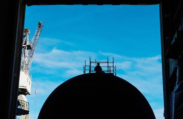 Подводная лодка. Архивное фото - Sputnik Таджикистан