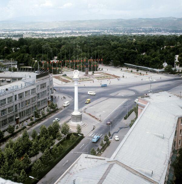 Панорама города Душанбе. Архивное фото - Sputnik Таджикистан