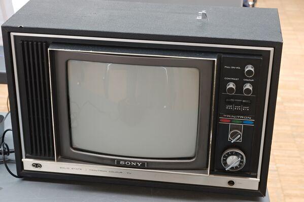 Телевизор Sony Trinitron. Архивное фото - Sputnik Таджикистан