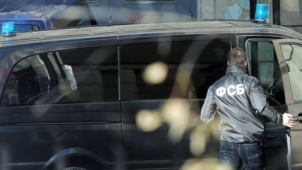 Сотрудник Федеральной Службы Безопасности России, архивное фото - Sputnik Таджикистан
