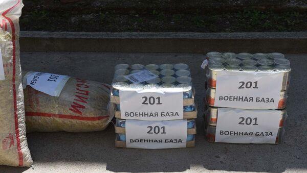 Военные 201-й РВБ оказали помощь пенсионерам Куляба - Sputnik Таджикистан