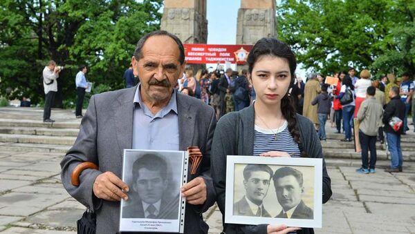 Бессмертный полк прошел в Душанбе, архивное фото - Sputnik Таджикистан
