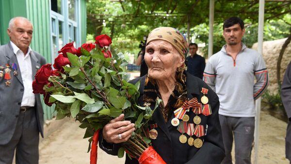 Ветеран ВОВ Даррия Кашфеева - Sputnik Таджикистан