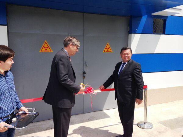 Открытие хранилища радиоактивных материалов при Государственном институте захоронения радиоактивных отходов (ГИ ЗРО) - Sputnik Таджикистан