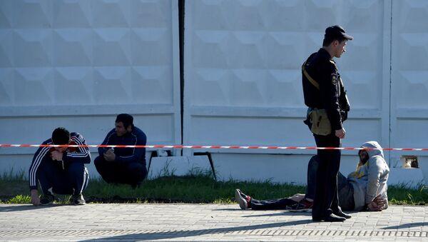На месте массовой драки на Хованском кладбище, архивное фото - Sputnik Таджикистан
