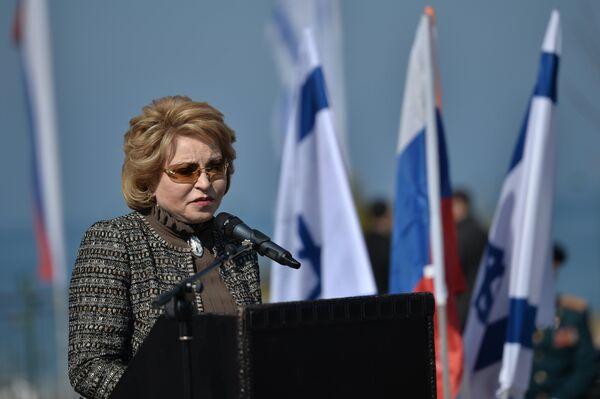 Валентина Матвиенко. Архивное фото - Sputnik Таджикистан
