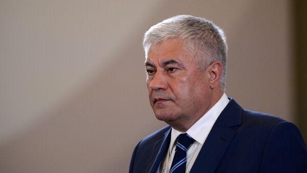 Министр внутренних дел РФ Владимир Колокольцев. Архивное фото - Sputnik Таджикистан