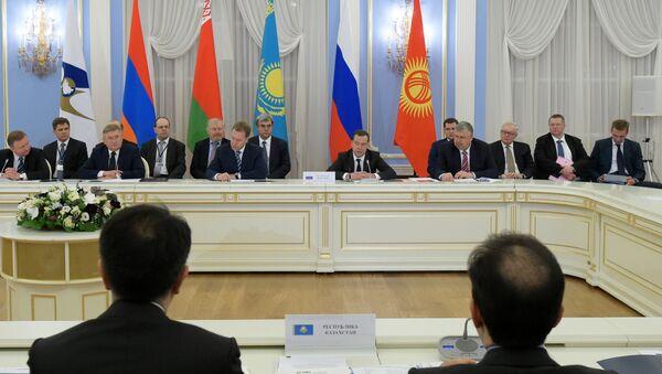Заседание Евразийского межправительственного совета (ЕАЭС), архивное фото - Sputnik Таджикистан