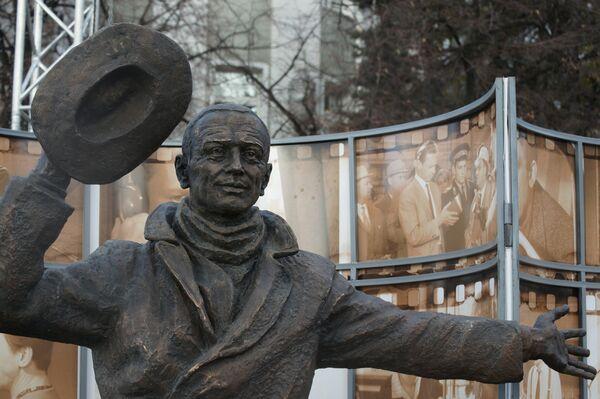 Открытие памятника Юрию Деточкину в Самаре - Sputnik Таджикистан