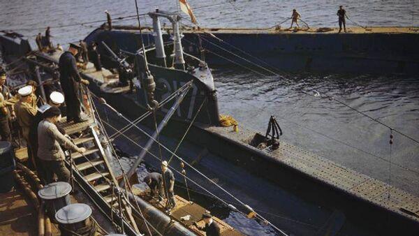Подлодка HMS P 311. Архивное фото - Sputnik Таджикистан