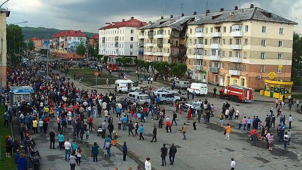 В Междуреченске в жилом доме обрушился подъезд - Sputnik Таджикистан