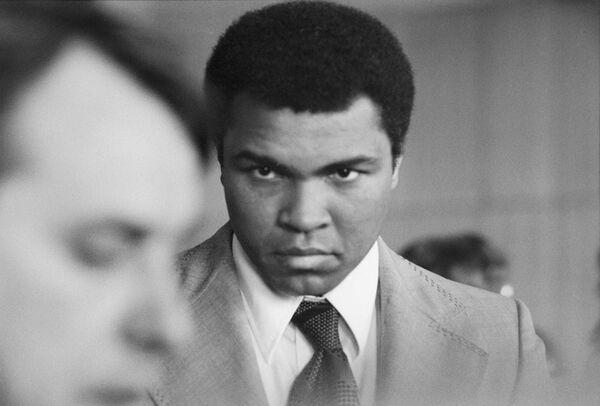 Легендарный американский боксёр Мохаммед Али в Москве - Sputnik Таджикистан