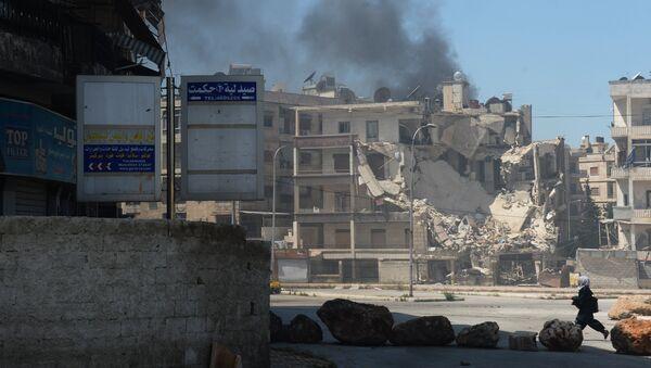 Ситуация в Алеппо - Sputnik Таджикистан