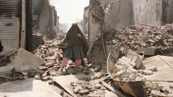 Руины в Афганистане. Архивное фото - Sputnik Таджикистан
