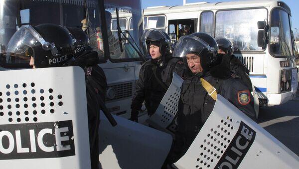 Сотрудники правоохранительных органов Казахстана - Sputnik Таджикистан