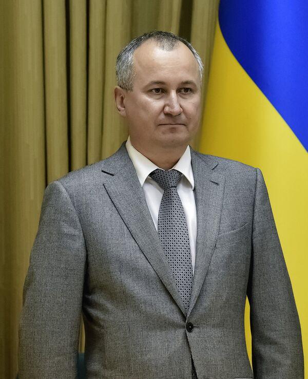 Руководитель Службы безопасности Украины Василий Грицак. Архивное фото - Sputnik Таджикистан