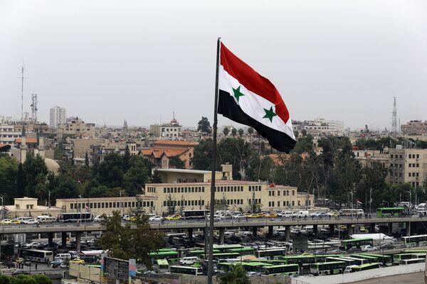 Флаг Сирии. Архивное фото - Sputnik Таджикистан