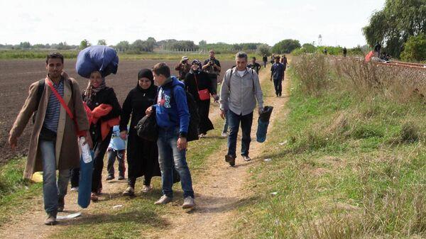 Беженцы в Европе. Архивное фото - Sputnik Таджикистан