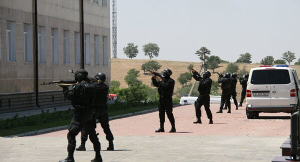 Спецназ. Архивное фото - Sputnik Таджикистан