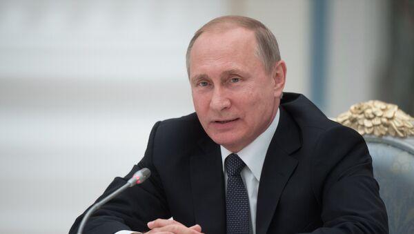 Президенти Русия Владимир Путин. Акс аз бойгонӣ - Sputnik Тоҷикистон