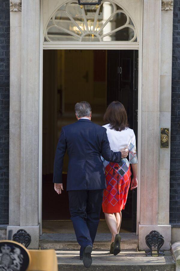Премьер-министр Великобритании Дэвид Кэмерон заявил об отставке - Sputnik Таджикистан