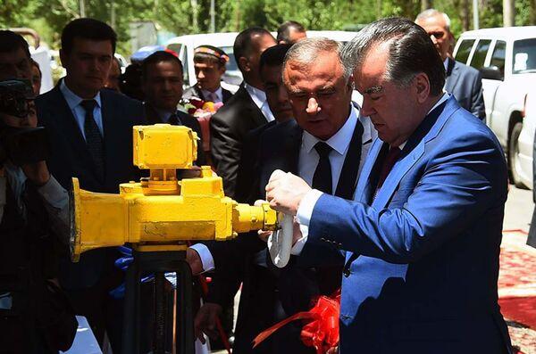Открытие водопроводной линии Богевдара – Хорог - Sputnik Таджикистан