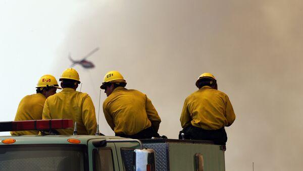 Пожарные. Архивное фото - Sputnik Таджикистан