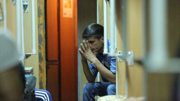 Международная информационно-просветительская акция Поезд гуманности: здоровье мигрантов - Sputnik Таджикистан