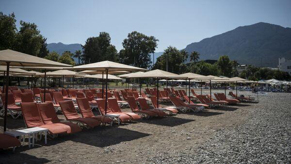 Ситуация на курортах Турции в связи со спадом турпотока из России - Sputnik Таджикистан