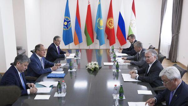 Заседание Совета министров иностранных дел Организации Договора о коллективной безопасности, архивное фото - Sputnik Таджикистан