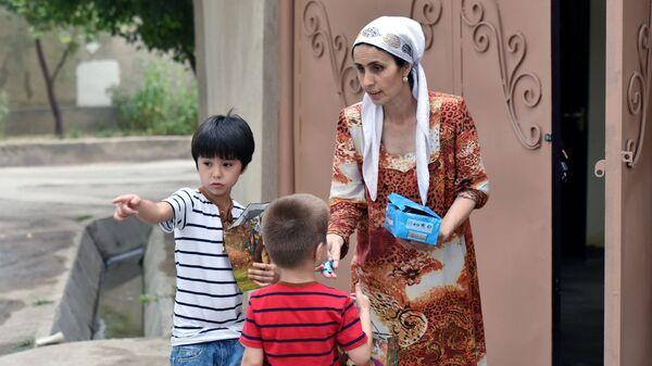 Празднование Ураза-Байрам в Душанбе - Sputnik Таджикистан