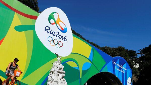 Банери Бозиҳои олимпӣ дар Рио. Акс аз бойгонӣ - Sputnik Тоҷикистон