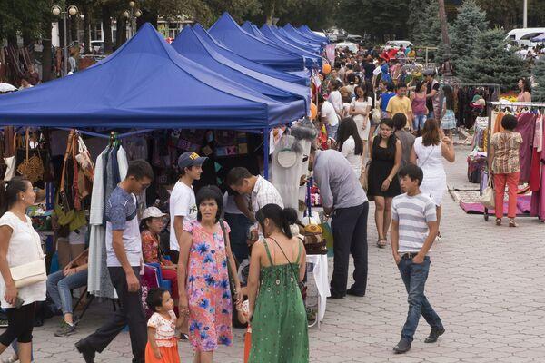 Международный фестиваль ремесел Оймо в Киргизии - Sputnik Таджикистан