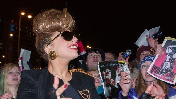 Американская певица Леди Гага прибыла в Санкт-Петербург - Sputnik Таджикистан