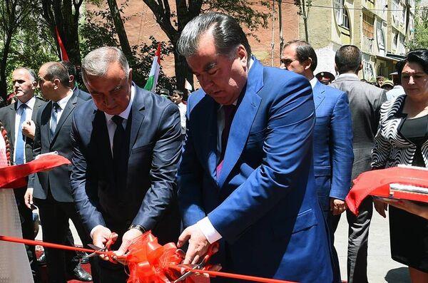 Открытие водопроводной линии Богевдара-Хорог - Sputnik Таджикистан