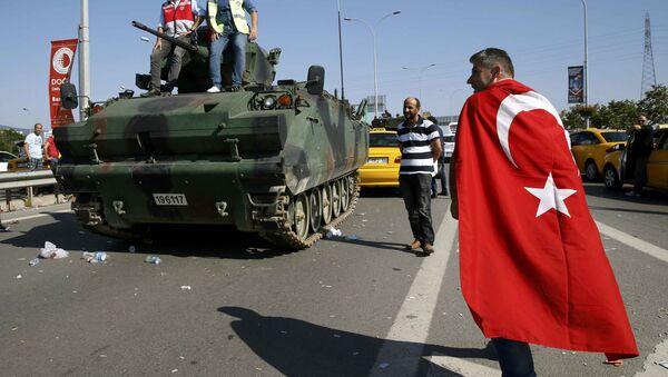 Попытка военного переворота в Турции - Sputnik Таджикистан