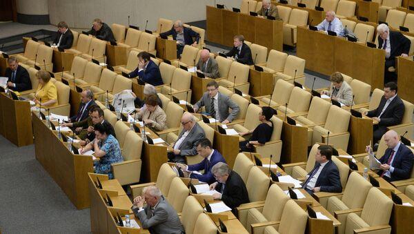 Пленарное заседание Госдумы РФ - Sputnik Таджикистан