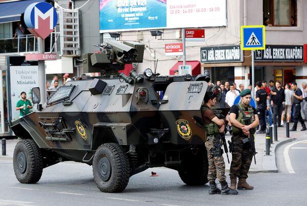 Попытка переворота в Турции - Sputnik Таджикистан