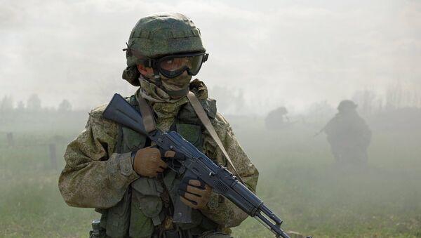 Военнослужащие подразделения Центрального военного округа, архивное фото - Sputnik Таджикистан