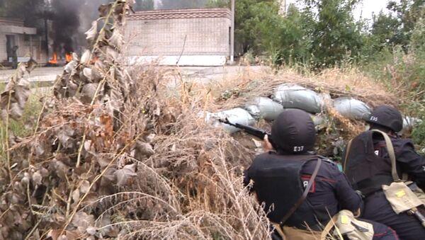Росгвардия и ВДВ: террористы уничтожены, беспорядки подавлены - Sputnik Таджикистан