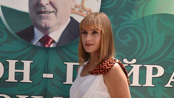 Кристина Пронженко. Архивное фото - Sputnik Таджикистан