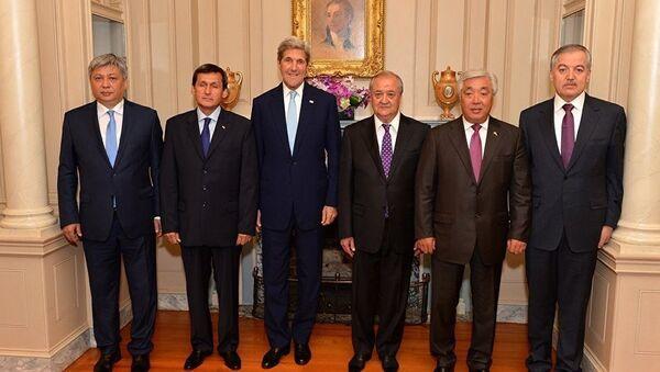 Министры иностранных дел стран Центральной Азии на встрече в США - Sputnik Таджикистан