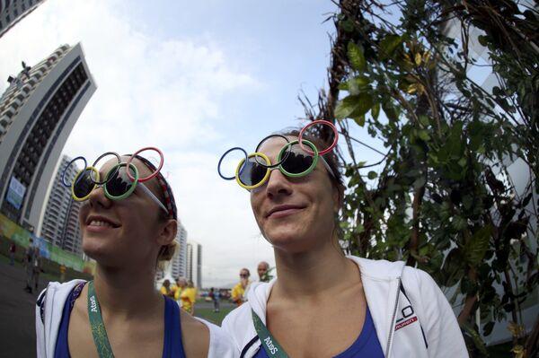 Олимпийскую символику можно встретить в Рио-Де-Жанейро повсеместно - Sputnik Таджикистан
