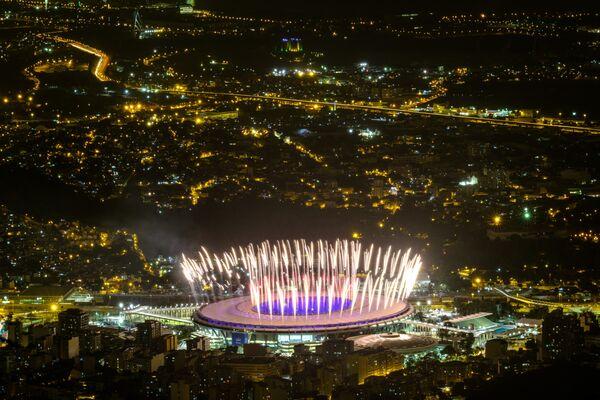 Репетиция открытия Олимпийских игр 2016 в Рио-Де-Жанейро на стадионе Маракана - Sputnik Таджикистан