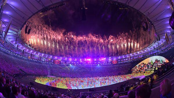 Маросими кушодашавии Бозиҳои олимпӣ дар Рио - Sputnik Тоҷикистон