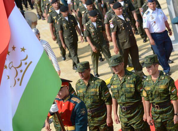 Открытие Армейских международных игр - 2016 - Sputnik Таджикистан