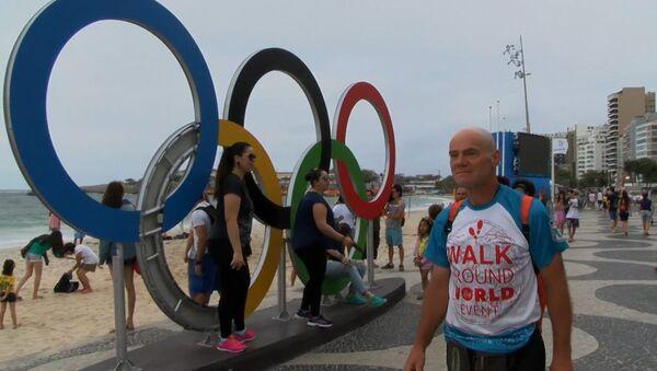 Пешком через два континента: как россиянин добрался до Рио за 469 дней - Sputnik Таджикистан