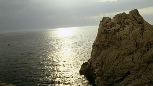 Вечер на берегу Каспийского моря. Архивное фото - Sputnik Таджикистан