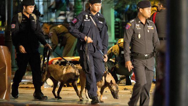 полиция Таиланда. Архивное фото - Sputnik Таджикистан