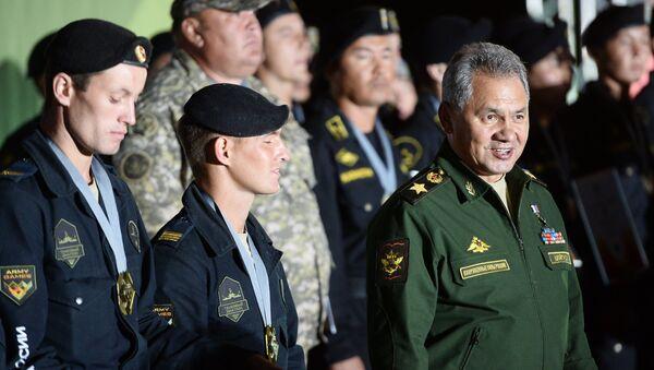 Закрытие Армейских международных игр-2016 - Sputnik Таджикистан